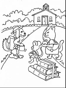 first day of school coloring pages 027