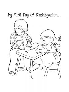 first day of school coloring pages 031