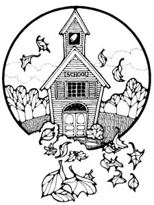 first day of school coloring pages for third grade