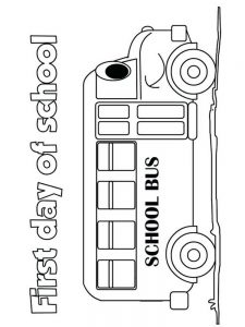 first day of school coloring pages pdf