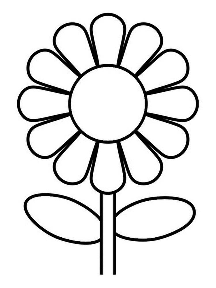 flower coloring pages that are printable