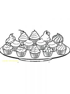 fnaf cupcake coloring pages