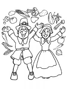 food coloring pages cute