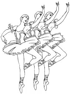 free ballerina coloring pages to print