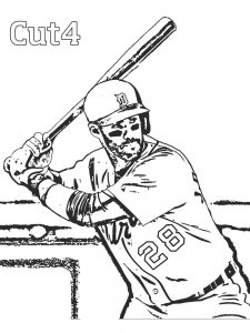 free baseball jersey coloring pages