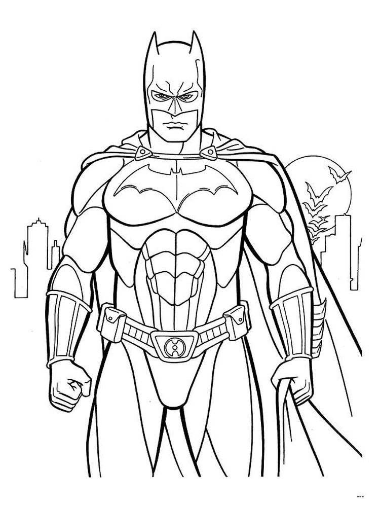 free batman coloring pages 005