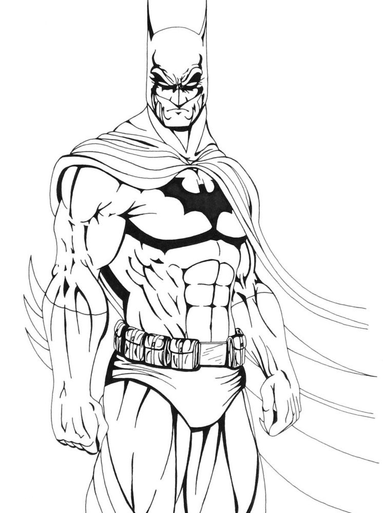 free batman coloring pages 010