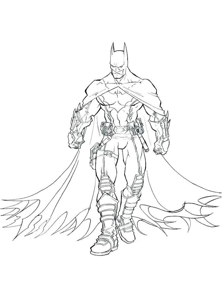 free batman coloring pages 014