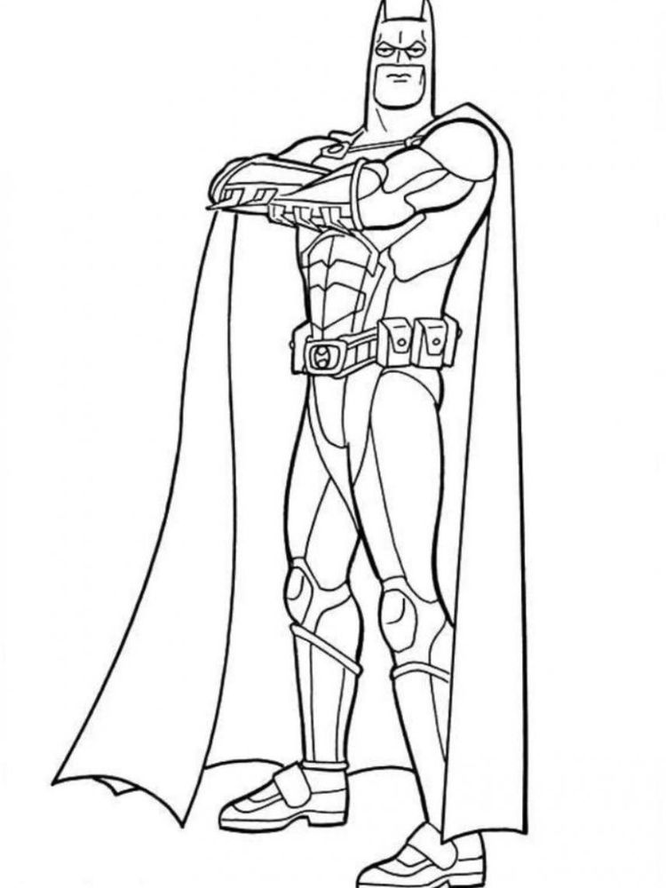 free batman coloring pages 039
