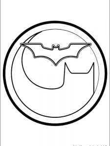 free batman coloring pages for adults
