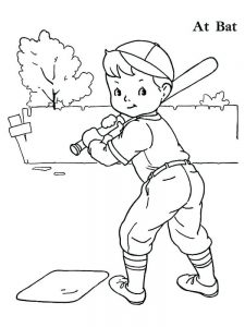 free cardinal baseball coloring pages