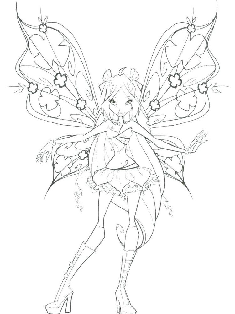 free christmas fairy coloring pages