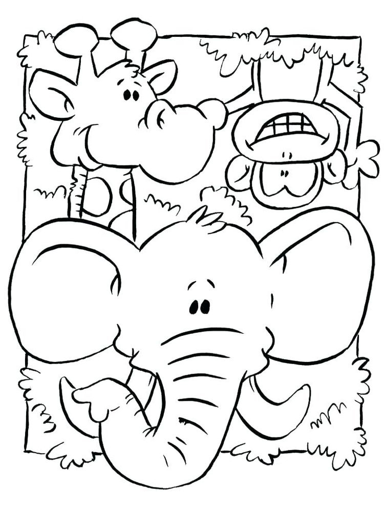 free coloring pages animals 025