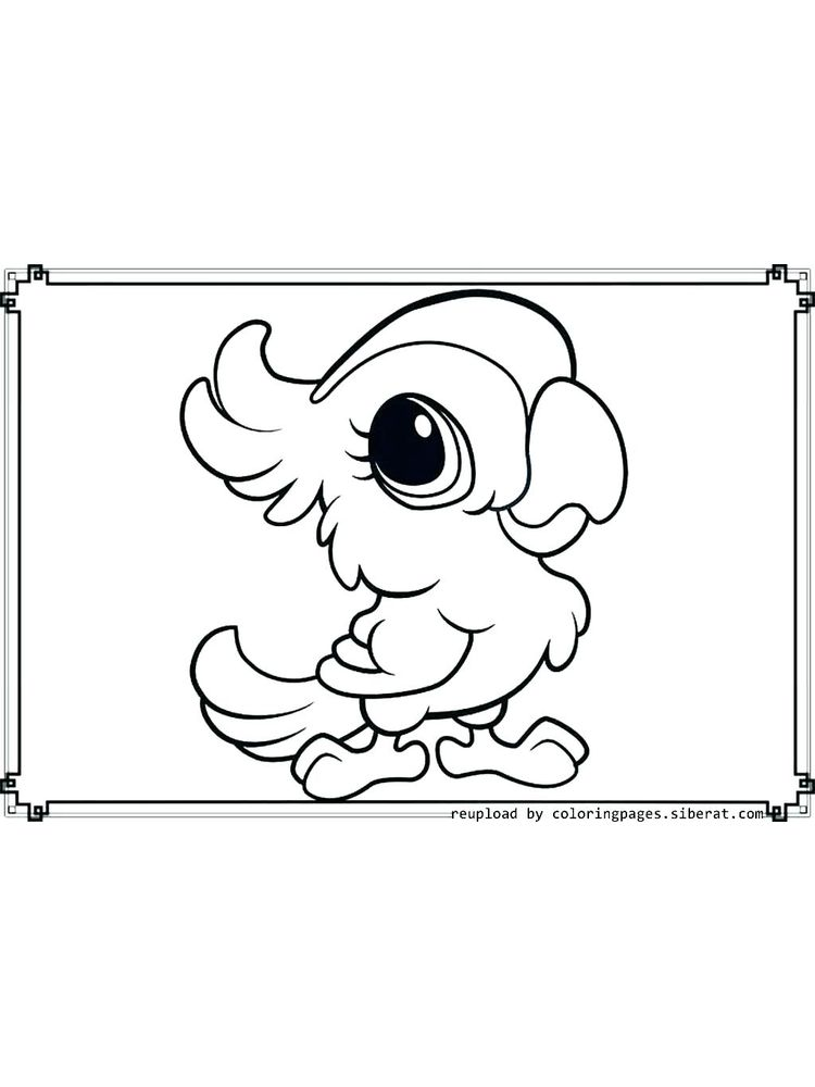 free coloring pages animals 040