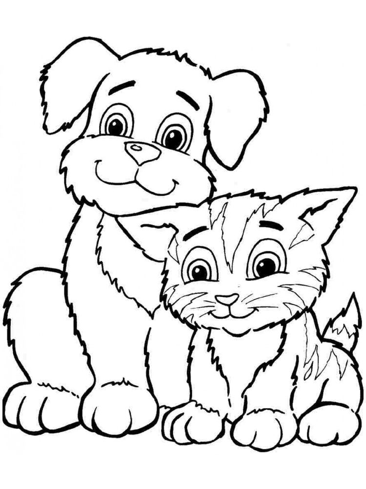 free coloring pages animals realistic