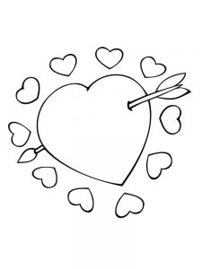 free coloring pages cupid