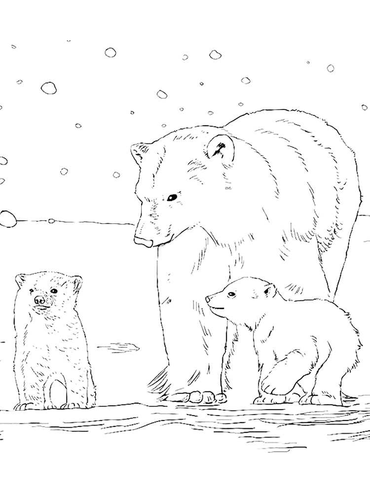 free coloring pages for kids animals