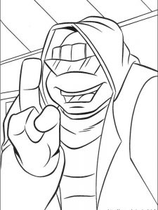 free coloring pages of ninja turtles