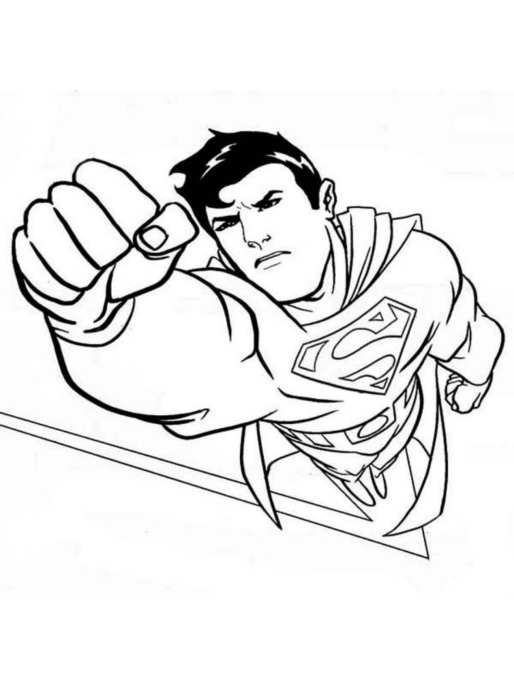 free coloring pages superman symbol