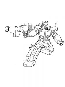 free coloring pages transformers 2