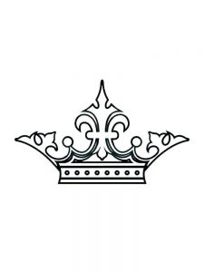 free crown coloring pages pdf