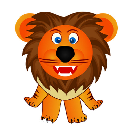 free lion coloring pages for kids