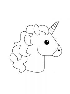 free printable coloring pages of a unicorn