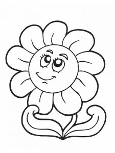 free printable coloring pages of spring flowers