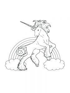 free printable coloring pages of unicorns