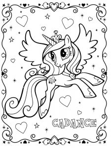 free printable coloring pages with unicorns