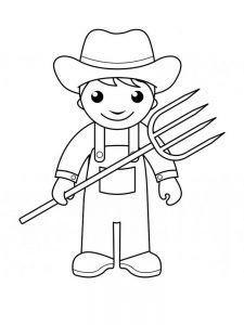 free printable community helper coloring pages