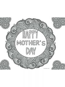 free printable mothers day coloring pages 026