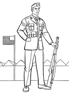 free printable soldier coloring pages pdf