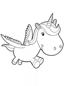 free printable unicorn birthday coloring pages