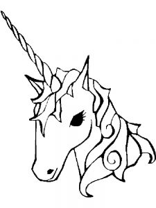 free printable unicorn coloring pages pdf