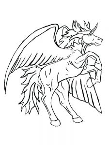 free printable unicorn head coloring pages