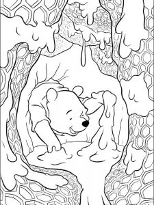 free printable winnie the pooh coloring pages