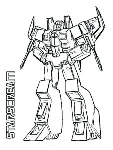 free transformers coloring pages to print
