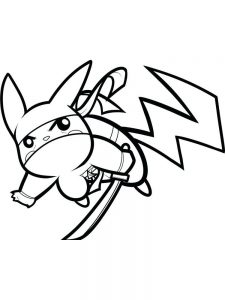 froggy pokemon coloring page