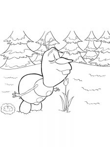 frozen coloring pages birthday