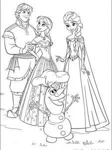 frozen coloring pages elsa let it go