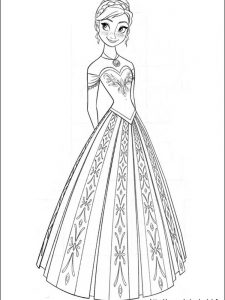 frozen coloring pages hellokids