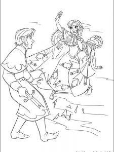 frozen coloring pages images