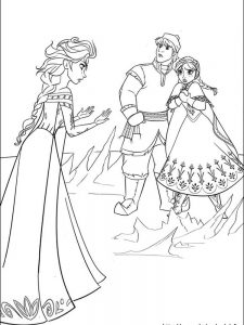 frozen coloring pages kristoff