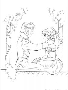 frozen coloring pages online games