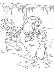 frozen coloring pages to print out