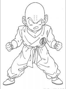 full page dragon ball z coloring pages