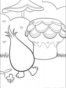 fuzzbert coloring pages troll