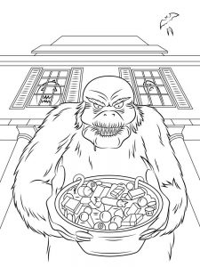 goosebumps coloring pages free