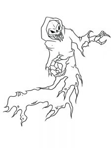 goosebumps coloring pages image
